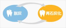 虫歯進行のメカニズム